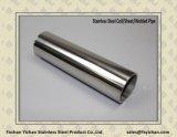 ASTM A554 Toalheiro de aço inoxidável Round Pipe