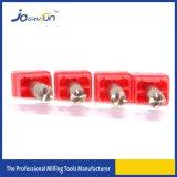 Taglierina solida di Endmill del metallo del carburo per la fresatrice