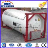 20pés 22toneladas Tetrafluoroetano Recipiente do tanque de gás com a ISO ASME BV CSC