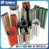 Perfil de alumínio de revestimento em pó com cor e dimensão diferentes