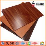 Композиционный материал Ideabond пожаробезопасный алюминиевый (деревянные серии взгляда)