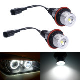 3W E39 LED Angel Eyes Headlights para BMW E39 E53 E60 E61 E63 E64 E65 E66 X5 com 6000k CREE LED Chip