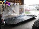 Coperchio trasparente gonfiabile della bolla dell'automobile