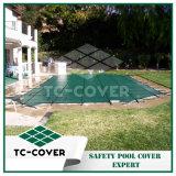 18 pies - 20 pies de redondo sobre las cubiertas de tierra de la piscina del invierno para la limpieza del agua reducen los productos químicos y almacenaje fácil