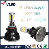 G5 LED illumina la singola lampadina del faro dell'automobile LED del fagiolo di 40W 4000lm H1 H7 H8 H11 9006