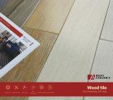 Marciano hölzerne keramische Fußboden-Fliese-natürliche Schokoladen-Farbe