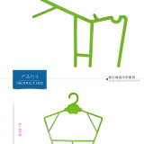 Eco-Friencly Cheap Price Baby and Kids Plastic Hanger Hangers