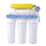 Sistema del filtro de agua de la ósmosis reversa de 6 etapas sin la bomba