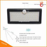 800lm 46Jardim Solar Luz de parede LED com 4A1 do sensor de movimento