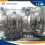 Máquina de rellenar del vino de la botella de cristal del control de programa/equipo