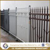 新式の電流を通された鋼鉄塀