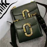 Гуанчжоу оптовые натуральная кожа дамской сумочке два размера леди плечо мешков в Китае Emg4964