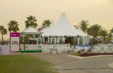 Hexagon Tenten van het Huwelijk van de Partij van Waterrpoof van de Tenten van de Familie van de Tuin