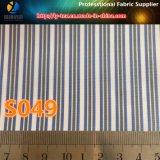De garen Geverfte Stof van de Streep, de Geweven TextielStof van de Polyester Keperstof voor Voering (S48.49)