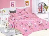 Whole Seles Bedding Sets Poly / Cotton T / C 50/50 Microfiber Bordados Lace Sheet Sets