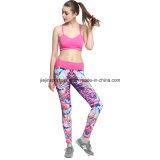 Dri Fit Personalizado Impreso Mujer Capris Sports Bra y Legging