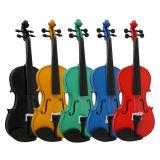 Fornitore del certificato di BV/SGS---Violino blu del compensato di colore del dispositivo d'avviamento di qualità della fabbrica del violino della Cina per l'allievo