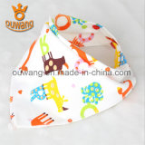Младенческие животные водоустойчивые изготовленный на заказ Bibs Bandana младенца печати