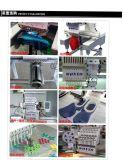 Geautomatiseerde Verrichting 12 van de Machine van het Borduurwerk van GLB Type Naalden Één HoofdBorduurwerk van de Hoed