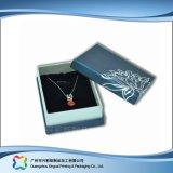 Reloj/joyería/regalo de lujo rectángulo de empaquetado de la visualización de madera/del papel (xc-hbj-048)