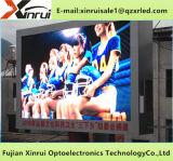 높은 광도 스크린 널을 광고하는 방수 P6 옥외 풀 컬러 발광 다이오드 표시 모듈