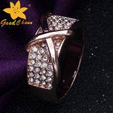 Oro di Stsr-16113016 Rosa con i monili dell'argento sterlina 925 dei diamanti