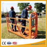Plataforma de funcionamento de alumínio da gôndola Zlp630/Zlp800/Zlp1000/elevador altamente de construção da gôndola