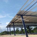 Edificio que enmarca del acero estructural de Tailandia con dimensión de una variable especial
