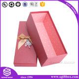 Изготовленный на заказ бумажная упаковывая коробка подарка с тесемкой