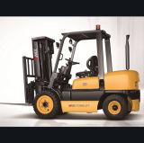 Vmax Vorkheftruck van de Pallet van 3 Ton de Dieselmotor Aangedreven