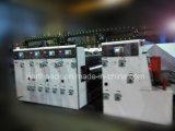 自動段ボールFlexoの印刷、細長い穴がつく及び型抜き機械