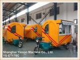Véhicule électrique d'aliments de préparation rapide de stalle d'hamburger de tricycle de Ys-Et175c