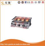 Sc-J33 Barbecue barbecue à gaz de luxe en acier inoxydable de luxe