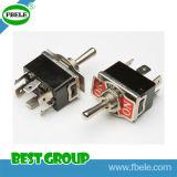 9 interruptor de posição do interruptor 3A 250VAC 3 do interruptor do Pin mini