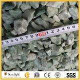 Rouge/vert/blanc/jaune/noir/gris pierre concassée de gravier