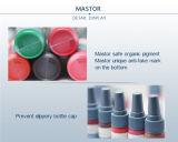 Mastorの常置構成の顔料