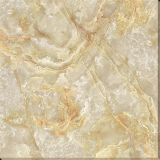 De opgepoetste Gouden Tegel van het Tapijt van de Vloer van het Porselein van het Kristal, Verglaasde Tegel