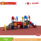 子供の娯楽のための新しいデザインカスタムプラスチック遊園地のスライドの屋外の運動場