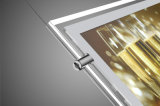 Acrylique publicité LED Slim Light Box avec Open magnétique