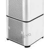 Белый очиститель воздуха с датчиком качества воздуха