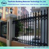 La ISO certificó la cerca de acero fácilmente ensamblada del balcón del cinc para de interior