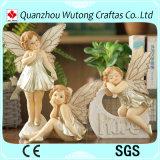 ホーム装飾のための卸し売り樹脂のクラフトのハンドメイドの妖精の置物