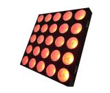 25X12W RGBW LED bewegliche Hauptmatrix