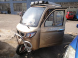 Triciclo de pasajeros de 125cc 150cc con cinco puertas como CRV