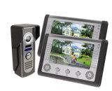 目に見えるビデオドアの電話可聴周波ドアベルのホームセキュリティーシステム
