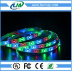 3528 RGB GELEIDE STROKEN 60LEDS/M (IP65)/GELEIDE STREEP