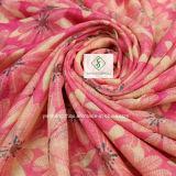 Neues Gänseblümchen gedruckt mit eingesäumtem Strand-Schal-Form-Schal