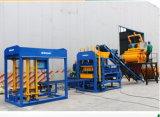 Мониторинг интервала QT4-15b автоматического оборудования для изготовления бетонных блоков для скрытых полостей пресс для кирпича