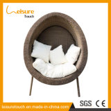 Стул Lounger софы крытого/напольного яичка ротанга стенда мебели сада зоны отдыха одиночного форменный