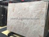 China natural branco/preto/castanho grandes lajes de mármore de Bancada/Quadros